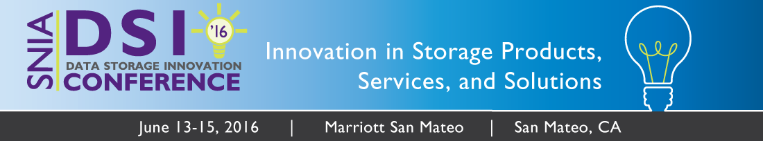 Data Storage Innovation Conference 2016 banner